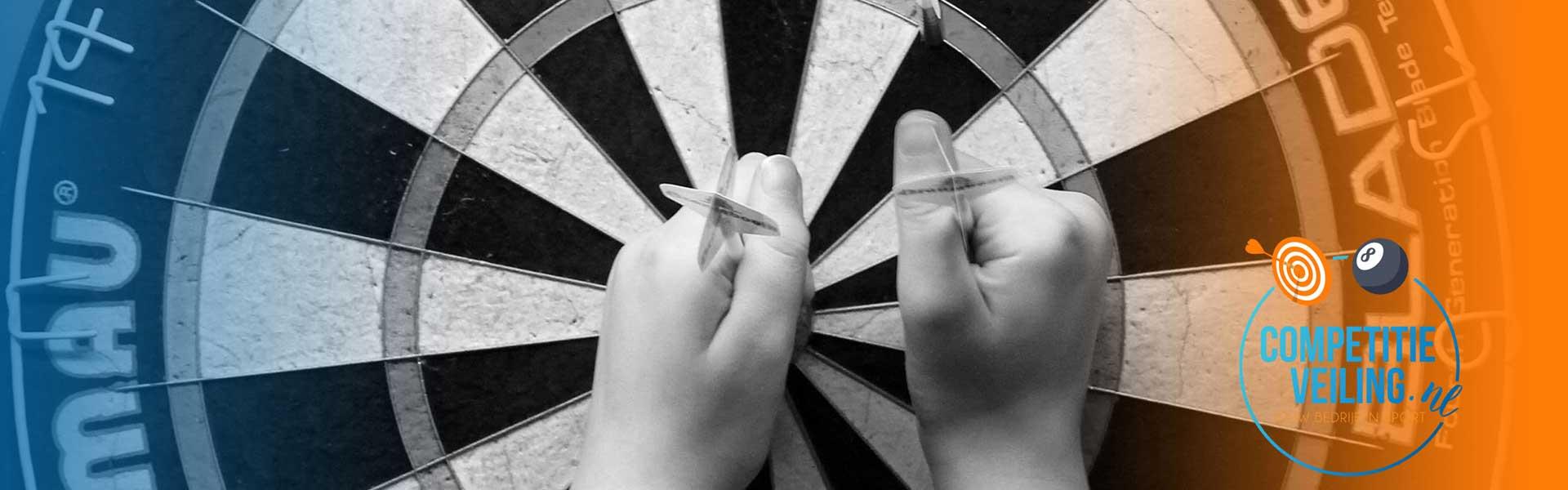 Nieuwe darts veilingen